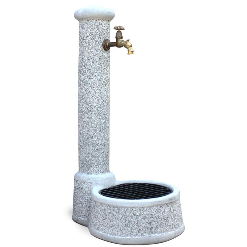 Fontana Veovella da Giardino in cemento Mod. Olbia