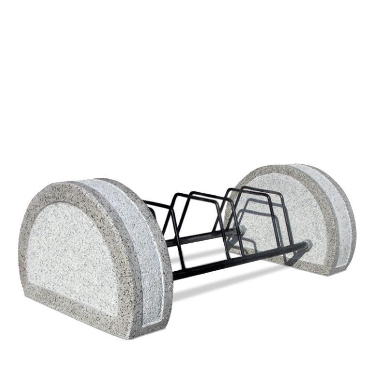 Portabici in cemento da 3, 5, 7 posti
