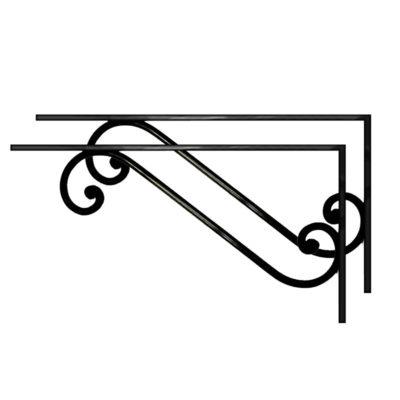 Staffe di sostegno per lavandino