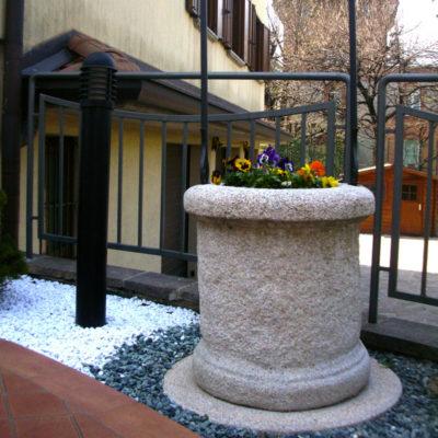 Pozzo Decorativo per Giardino - Mod- Etna