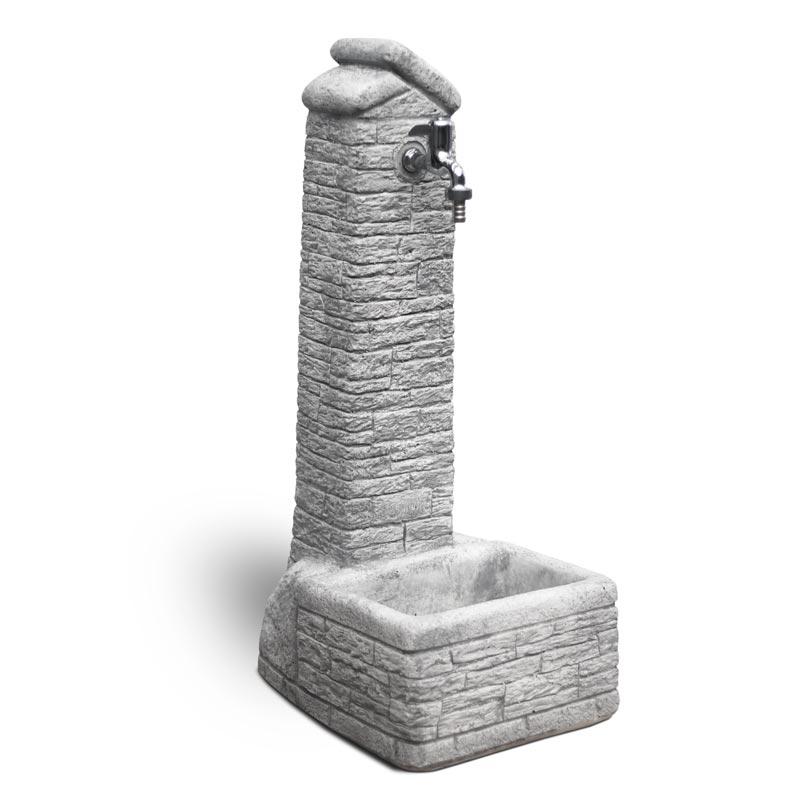 Fontana per giardino in cemento Zambla