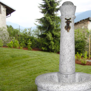 Fontane da giardino in granito