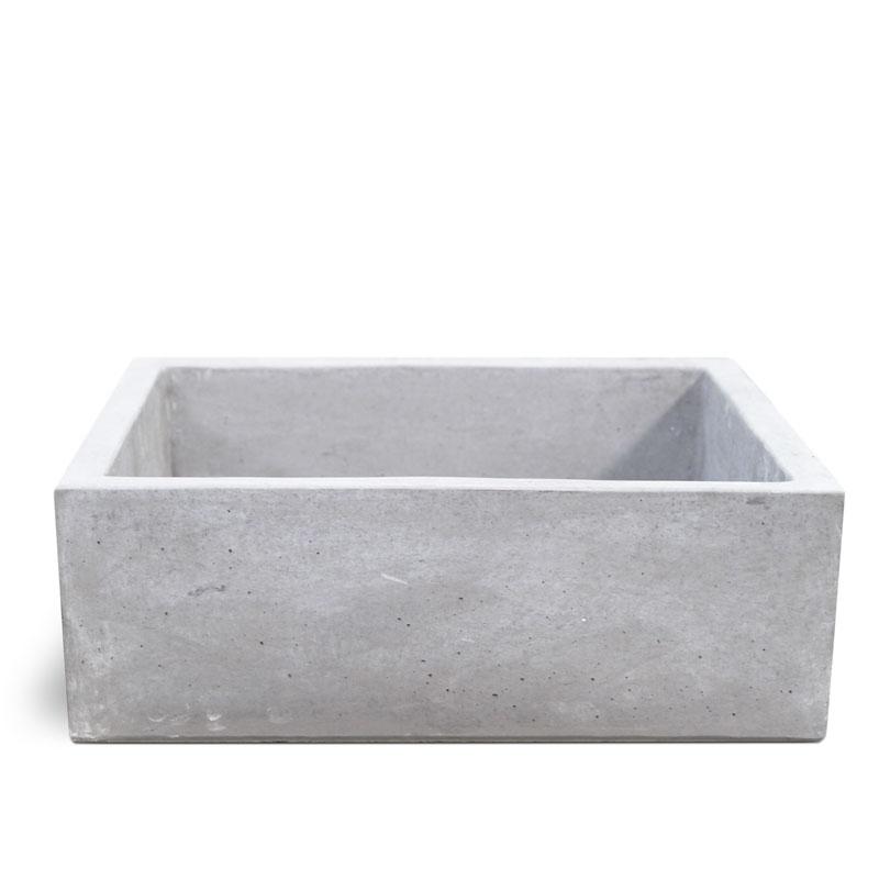Lavello moderno in cemento Grigio